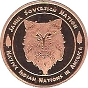 1 Cent (Iroquois Tribes) – avers