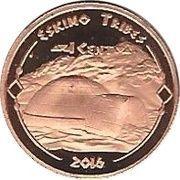1 Cent (Eskimo Tribes) – revers