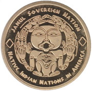 1 Dollar  (Eskimo Tribes) – avers