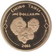 1 Dollar  (Eskimo Tribes) – revers