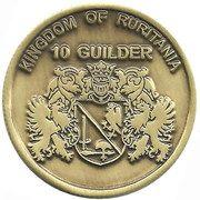 10 Guilder – avers