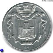 5 Centimes Union Commerciale et Industrielle - Falaise [14] – avers