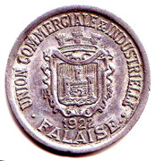 25 Centimes - Union Commerciale et Industrielle - Falaise [14] – avers