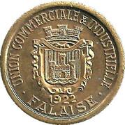 10 Centimes Union Commerciale et Industrielle - Falaise [14] - ESSAI – avers
