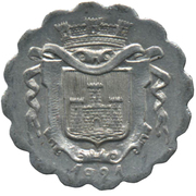 10 Centimes Union Commerciale et Industrielle - Falaise [14] – avers