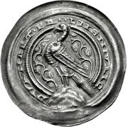 1 Brakteat - Buckhard II. (Ermsleben) – avers