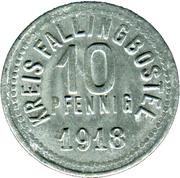 10 pfennig - Fallingbostel – avers