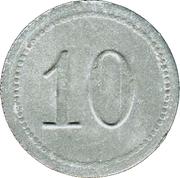 10 pfennig - Fallingbostel – revers