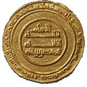 Dinar - Al-Mansur Billah – avers