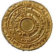 Dinar - Al-Mu'izz li-Din Allah – avers