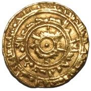 Dinar - Al-Mu'izz li-Din Allah (Al-Mansuriya mint) – avers