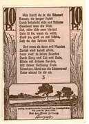 10 Pfennig (Feldberg i. M.) – avers