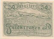 50 Heller (Feldkirchen an der Donau) -  avers