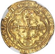 Léopard d'or - Edward III – revers