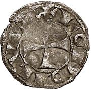Denier anonyme Comté d'Angoulême au nom de louis IV d'Outremer (936-954) – avers