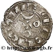 Denier anonyme Comté d'Angoulême au nom de louis IV d'Outremer (936-954) – revers
