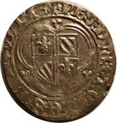 """Blanc à l'écu - Philippe III de Bourgogne dit """"le Bon"""" – avers"""