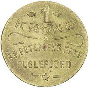 1 Krone (S. P. Petersens EFTF) – avers