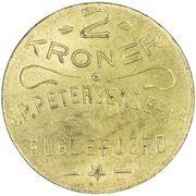 2 Kroner (S. P. Petersens EFTF) – avers