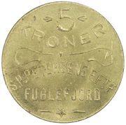 5 Kroner (S. P. Petersens EFTF) – avers