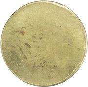 5 Kroner (S. P. Petersens EFTF) – revers