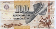 100 Kroner -  avers