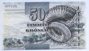 50 Krónur – avers