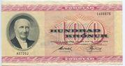 100 Krónur – avers