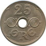 25 øre - Christian X – revers