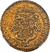 1 Scudo d´Oro, Scudo del Sole - Alfonso II – avers