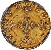 1 Scudo d´Oro, Scudo del Sole - Alfonso II – revers