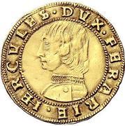 1 ducato - Ercole I – avers