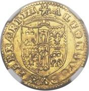 1 scudo d'Oro - Alfonso I – avers