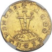 1 scudo d'Oro - Alfonso I – revers