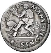 ½ lira - Alfonso I – revers