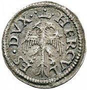3 quattrini - Ercole I – avers