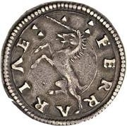 2 soldi - Ercole I – revers