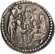 8 quattrini - Ercole I – avers
