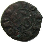 Denaro, Obizzo (1344-1352) – avers