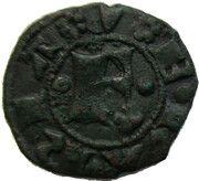 Denaro, Obizzo (1344-1352) – revers