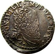 Alfponso II - Giorgino 1596-1597 – avers