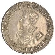 ½ scudo - Ercole II – avers