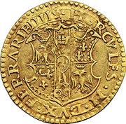 1 scudo d'Oro - Ercole II – avers
