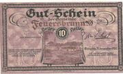 10 Heller (Feuersbrunn) -  avers