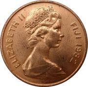 2 cents - Elizabeth II (2e effigie) -  avers