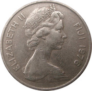 10 cents - Elizabeth II (2e effigie) -  avers