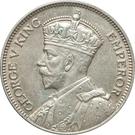 1 shilling George V – avers