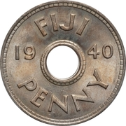 1 penny - George VI – revers