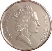 50 cents - Elizabeth II (3ème effigie) -  avers