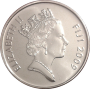 10 cents - Elizabeth II (3ième effigie) -  avers